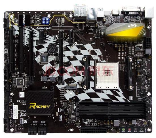 映泰 B250GT5产品综述图片(4)参数报价点评(1) 映泰这款主板延续了Racing系列的赛车风,继续将优秀电竞和炫酷赛车融合到一起,这款主板采用了B350芯片组,支持AMD锐龙系列处理器超频操作,相对X370芯片组缺少了对显卡并联的支持。丰富的供电保障系统稳定运行。