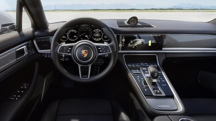 保时捷发布Panamera最新混动车型 极速可达310km/h的照片 - 4