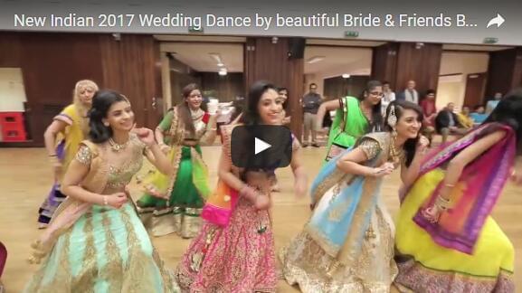 三月破200万:印度婚礼舞蹈有望打破YouTube播放量记录的照片