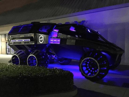 NASA火星登陆车原型曝光 据说像蝙蝠侠战车