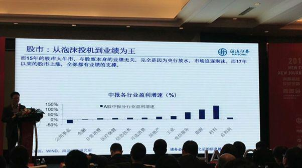 姜超最新发言:泡沫时代正远去 价值投资才是正道