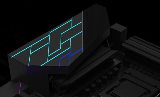 iCraft主板新形象曝光 线条硬朗的RGB?