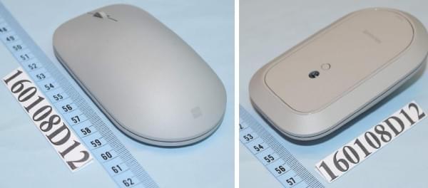 微软新Surface蓝牙鼠标或为搭配新Surface一体电脑的照片