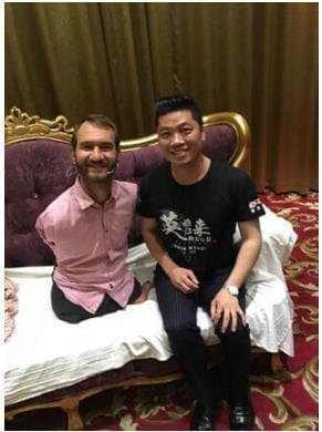 德升集团助力公益:尼克胡哲北京公益演讲会官方合作伙伴