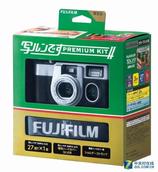 一个时代的回忆 富士推出新款一次性胶卷相机