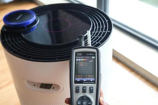 以动致净 科沃斯空气净化机器人沁宝A650评测