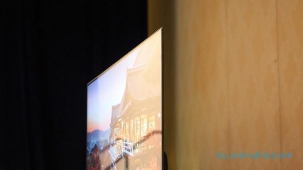 薄至4.9mm 小米电视4 CES现场图赏的照片 - 6