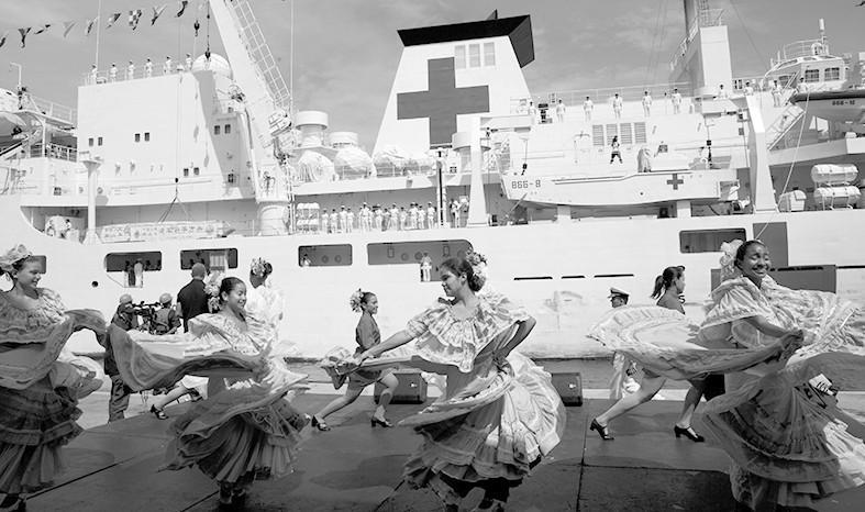 """中國""""和平方舟""""首訪委內瑞拉 美國船也要去?"""