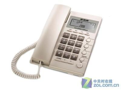 步步高6082电话机兼容fsk/dtmf双制式来电显示,防雷击保护电路,使防
