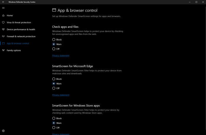 Windows 10 build 15042公布:Windows Defender获改善的照片 - 2