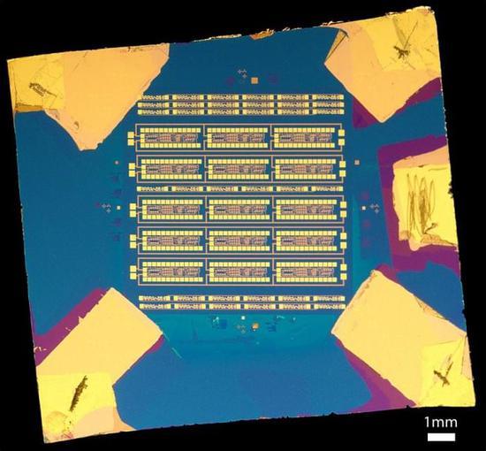 [图]科学家研发出带2D半导体的微处理器
