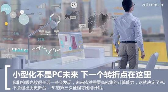 小型化不是PC未来 下一个转折点在这里