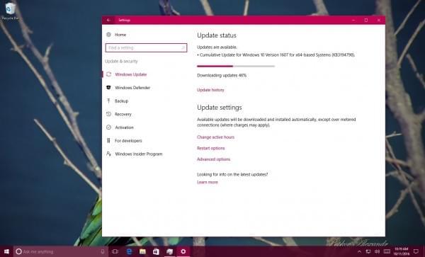 Windows 10获累积更新:修复移动端WiFi耗电异常问题的照片