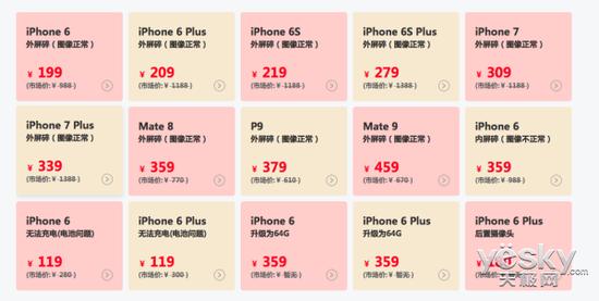 售后服务大数据报告揭示手机保外维修成本 苹果才排第三