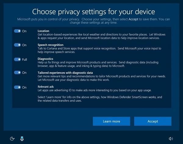 隐私政策调整:微软将减少对 Windows 10 PC 遥测数据的收集的照片 - 1