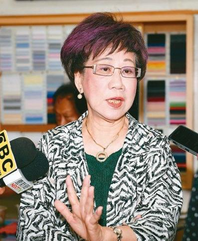 吕秀莲未回应退党指责:台空气污染重 政治污染更重