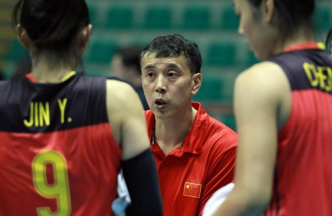 亚锦赛中国女排3-0胜哈萨克 进四强或再战日本