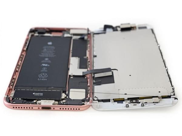 iPhone 7 Plus拆解:2900mAh容量电池的照片 - 11