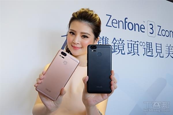 华硕ZenFone 3 Zoom上市:双镜头/5000mAh的照片 - 1