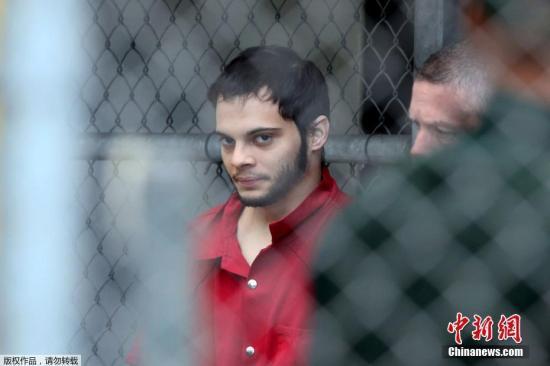 美国佛州机场枪击案凶手被判终生监禁加120年服刑