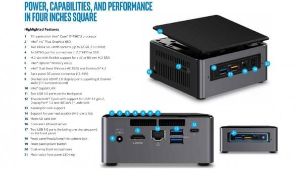 Intel正式发布全新NUC:七代酷睿+雷电3的照片 - 5