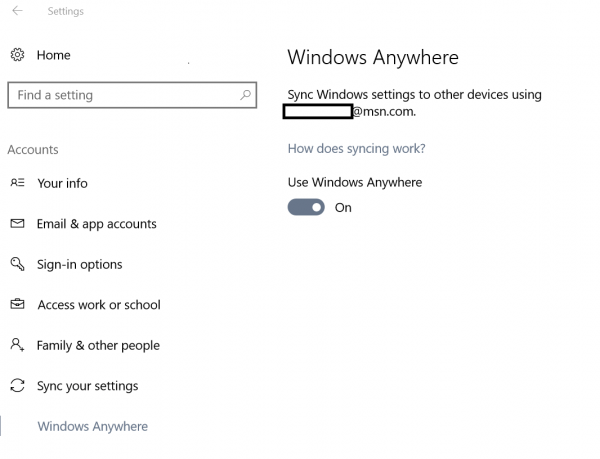 Win10 Build 14926未公布新功能:Windows Anywhere现身的照片 - 2