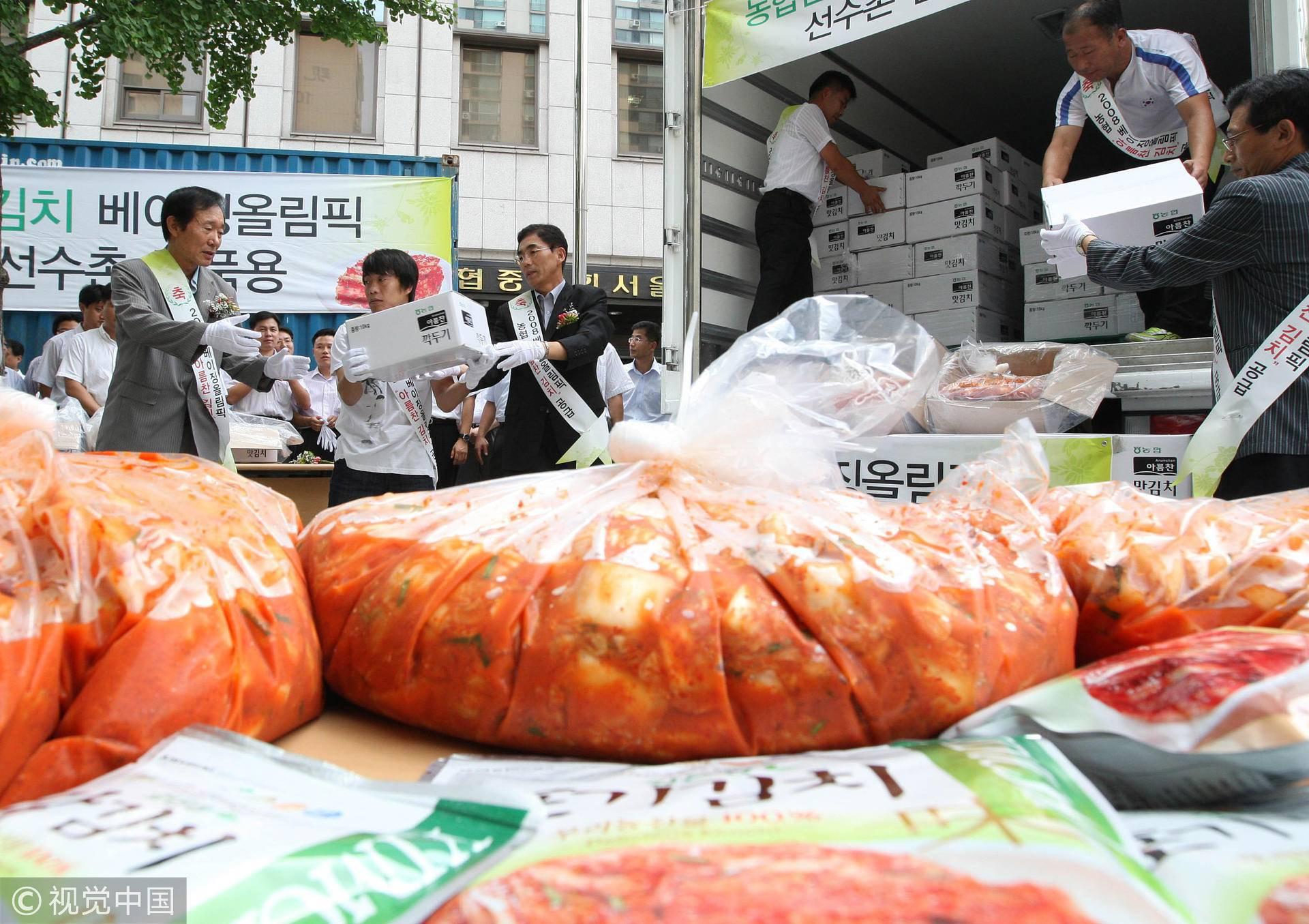 韩国人有多爱吃泡菜,就有多爱国