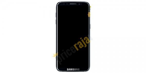 网曝三星Galaxy S8真机正面谍照的照片