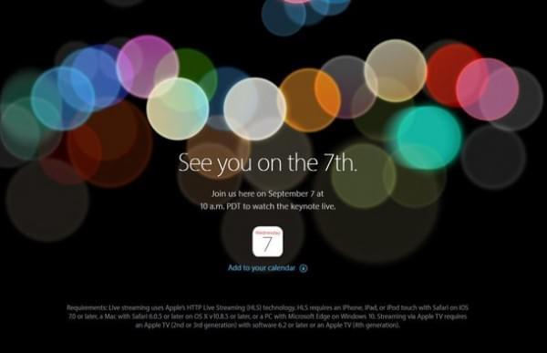 苹果iPhone 7/7 Plus发布:32/128/256GB起售价649美元的照片 - 1