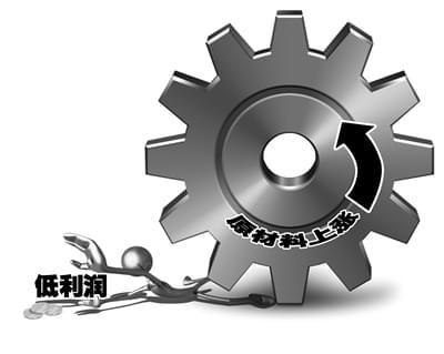 原材料上涨重压:中小企业利润最低至1%