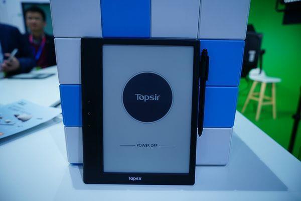 海尔发布TOPSIR电纸书:石墨烯显示+原笔迹手写的照片 - 3