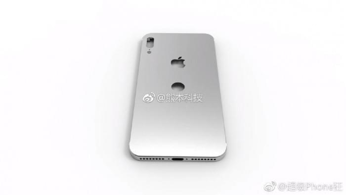 iPhone 8后壳最新泄露图:后置Touch ID?的照片 - 1