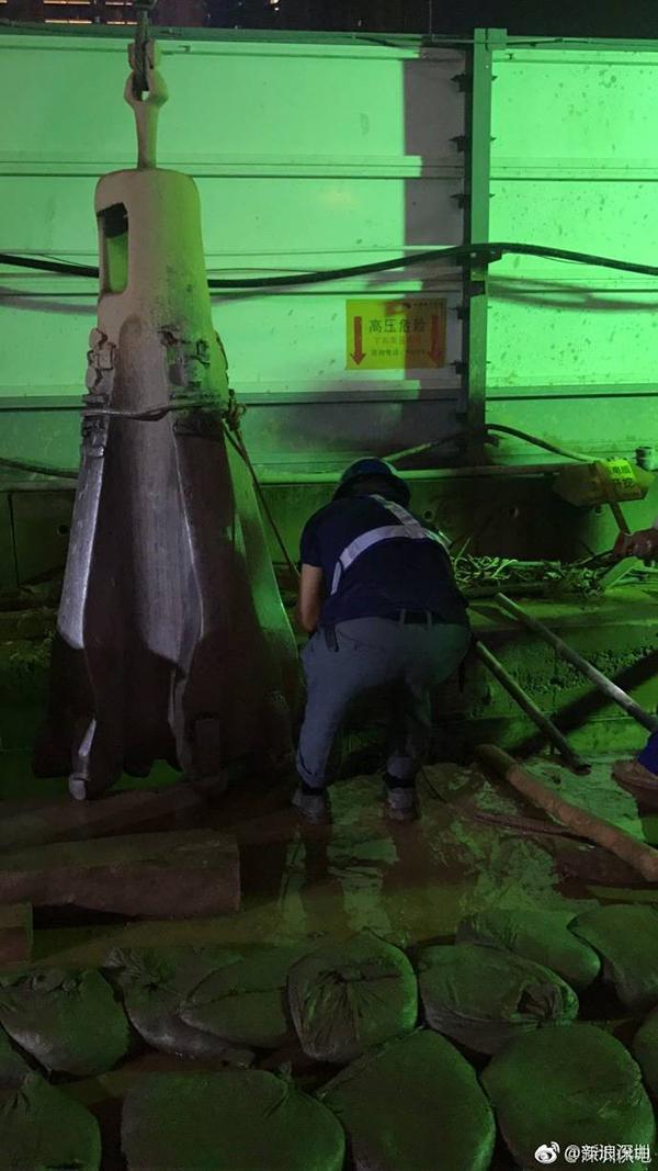 深圳地铁再致歉3天挖断7根电缆:将顶格处罚