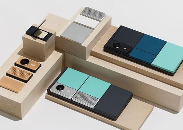消息人士称Google已暂停Project Ara模块化手机项目的照片