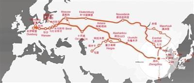 中欧班列 郑州 开通4周年,成绩斐然 助力郑州 国际范儿 ,一马当先