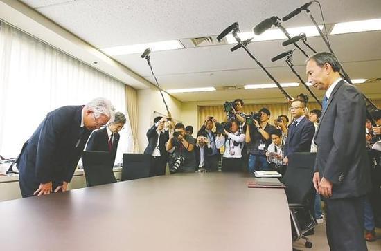 神户制钢社长公开道歉:在国内外发现新可疑情况