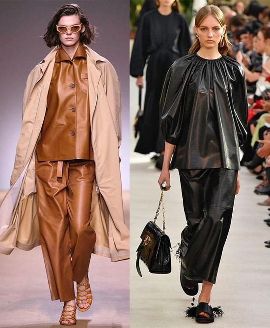 皮革单品横行的今秋 你需要一条又飒又高级的皮裤