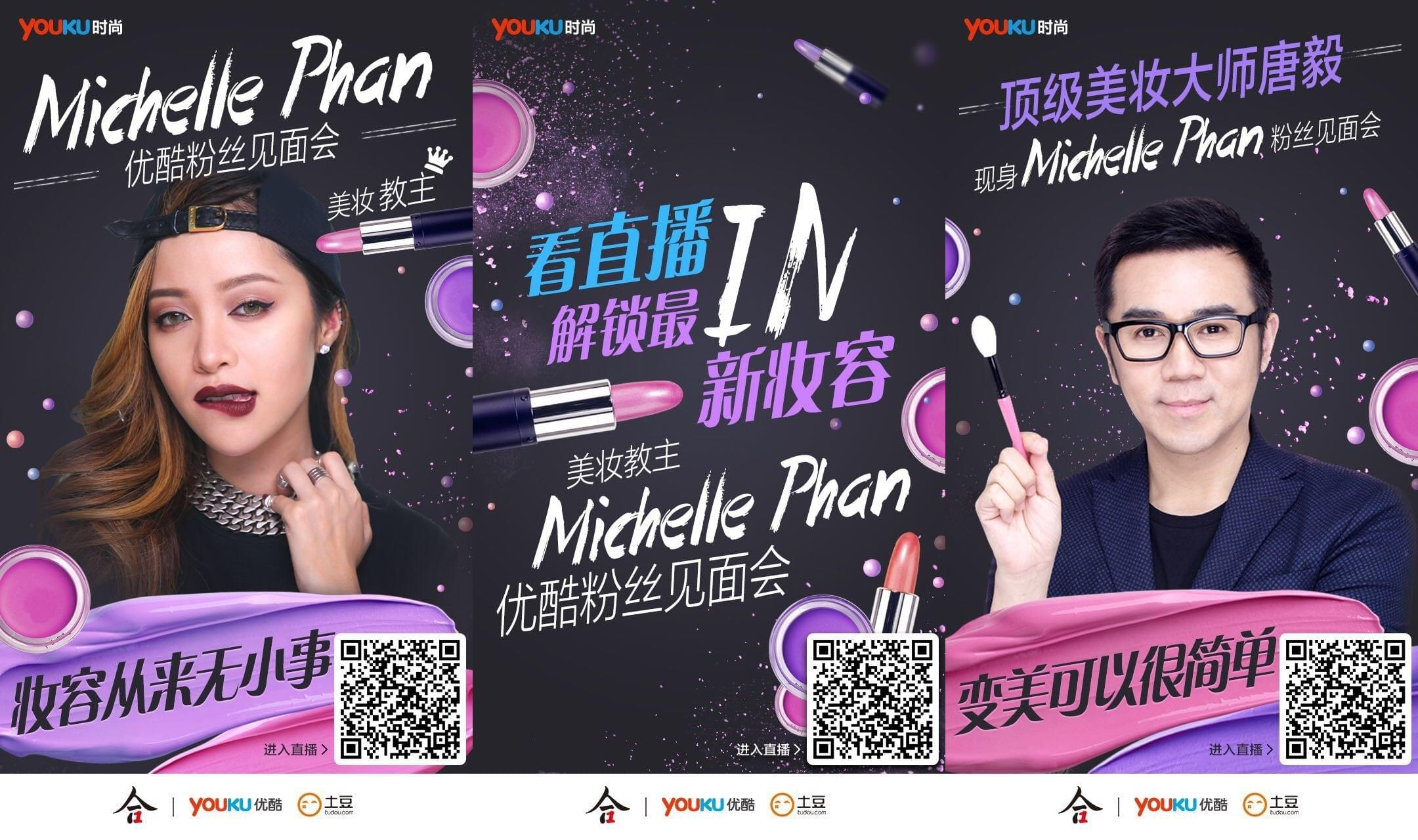 Michelle Phan develop China market through Youku