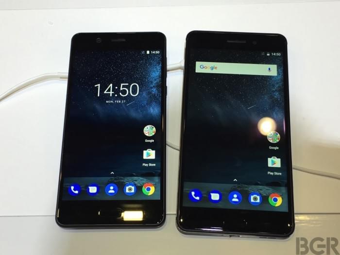 Nokia 3和Nokia 5现场真机上手的照片 - 2