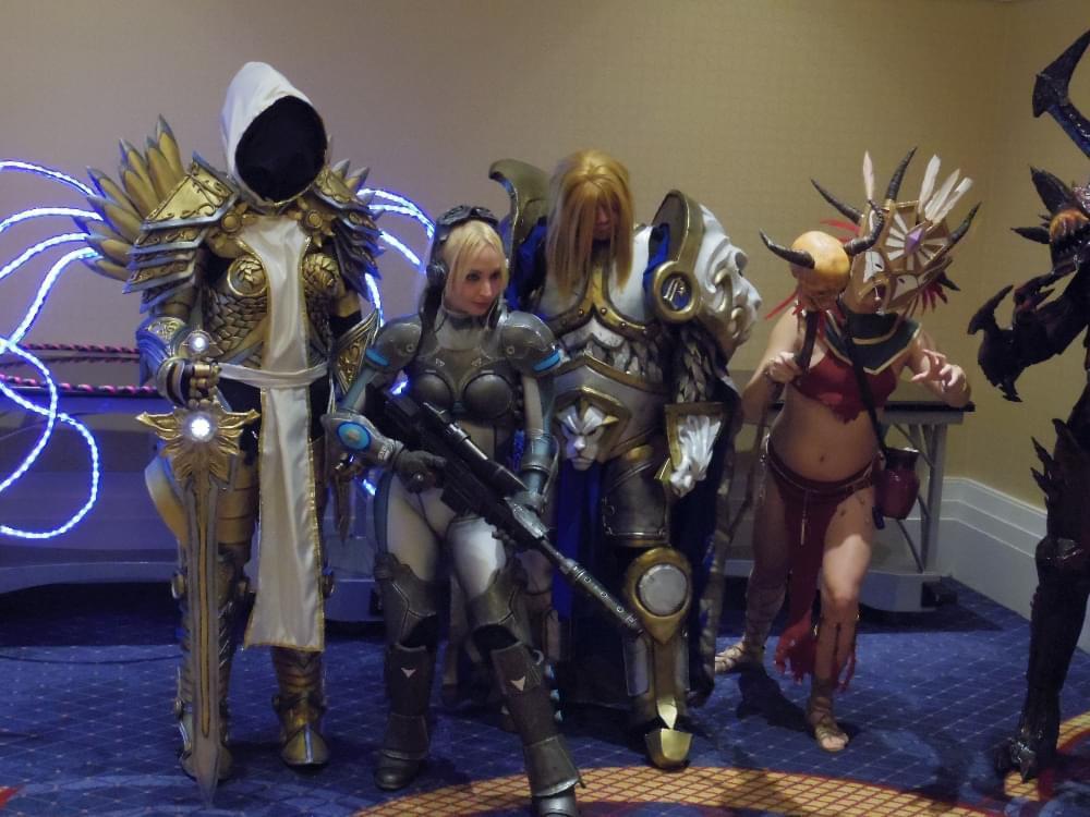 风暴英雄外服玩家cosplay欣赏