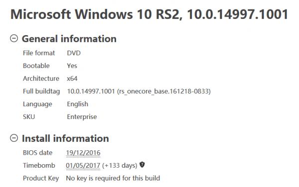 Windows 10 build 14997 图像泄露 多项改进的照片 - 2