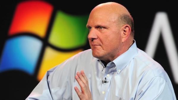 微软前CEO鲍尔默坚信立足未来微软还要靠硬件的照片