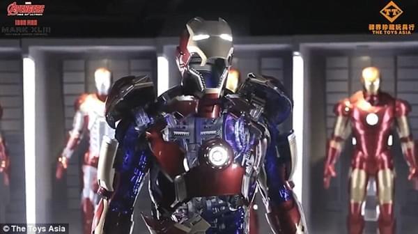 钢铁侠官方1:1战衣开卖:250万一套、能变形的照片 - 3