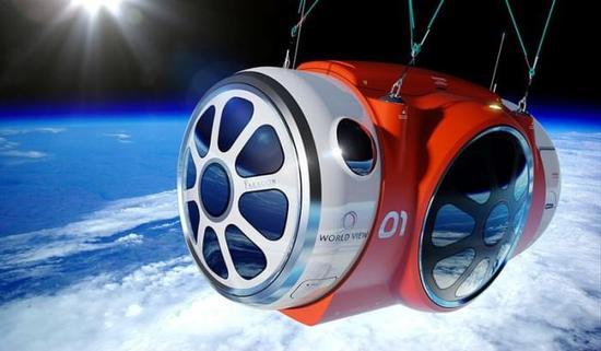 [图]这家公司欲将人类送上平流层 享受更悠闲的太空之旅