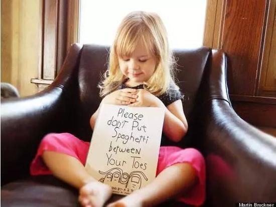 爸爸将女儿说过的话变成可爱插图 看完就被治愈了