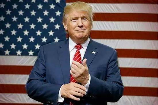 图说:美国总统特朗普。视觉中国