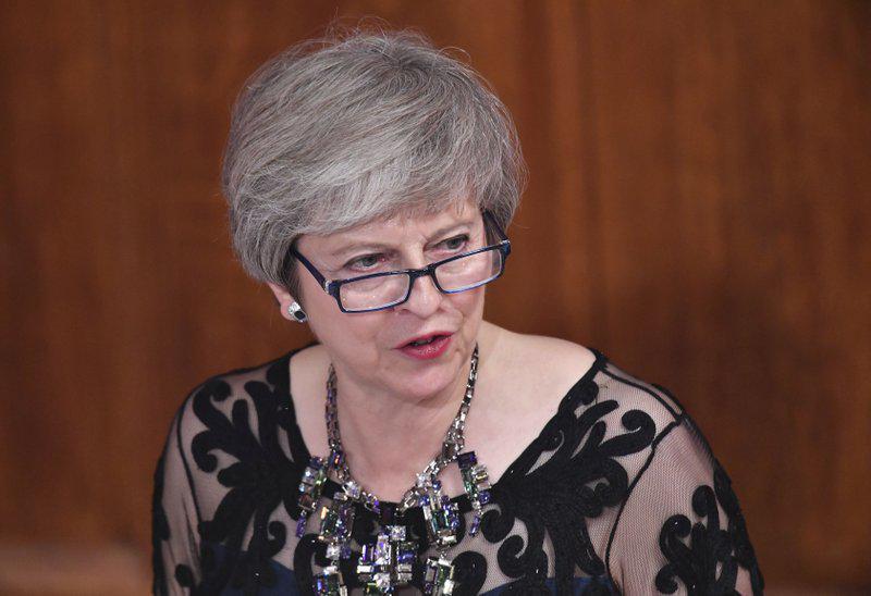 """英首相:英国和欧盟达成的脱欧协议""""几乎触手可及"""""""