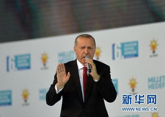 土耳其总统:不会向经济威胁屈服