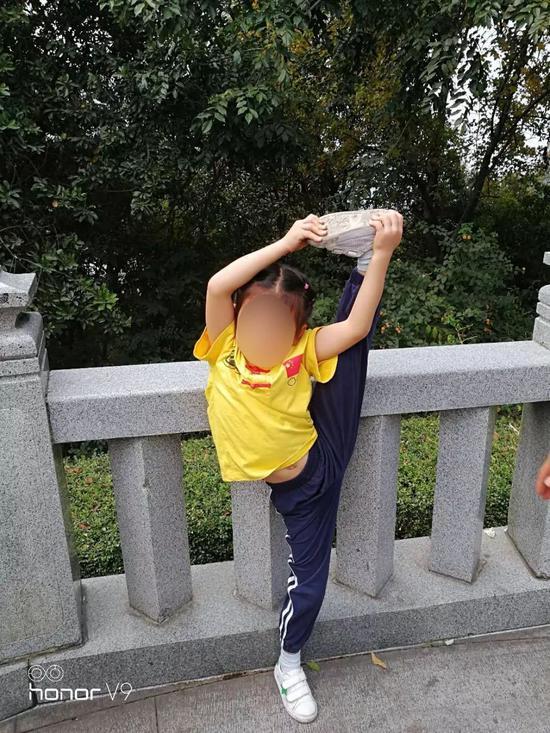 孩子从小会习武