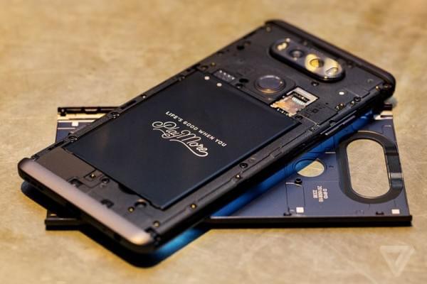 LG V20正式发布:5.7吋2K屏+骁龙820+可拆卸电池的照片 - 4